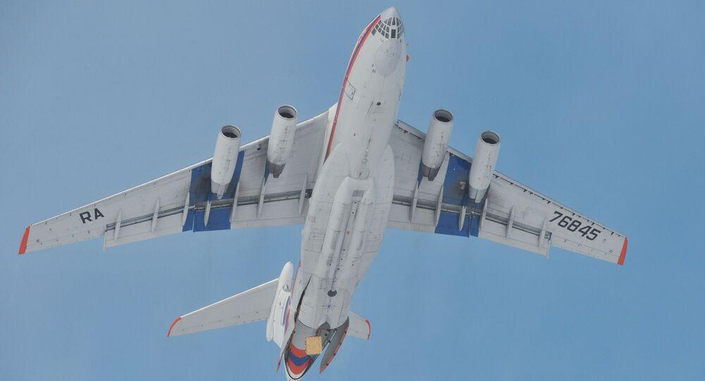 An Il-76 aircraft