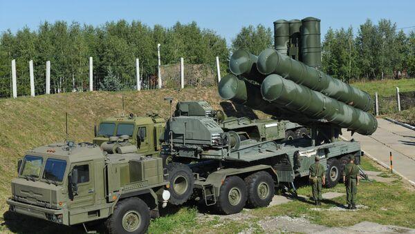 S-400 Triumph air defense system - Sputnik International