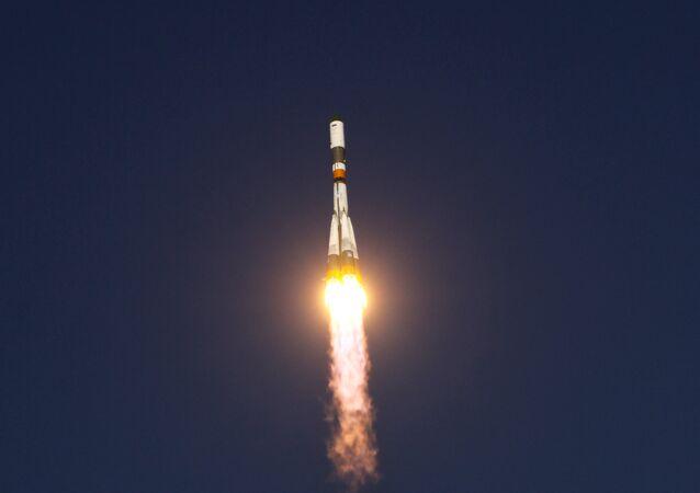 Russian Soyuz-U carrier rocket
