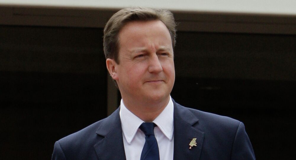 British Prime Minister David Cameron has threatened to boycott a series of pre-election debates unless the leader of the country's Green Party is allowed to participate, which political opponents say is a politically calculated move and an act of cowardice