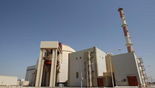An archive photo of the Bushehr nuclear power plant in Iran - Sputnik International