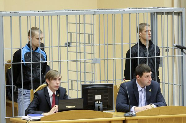 Vladislav Kovalyov was accused with Dmitry Konovalov of the April 11 attack that killed 15 people and left scores injured. Konovalov is accused of masterminding the bombing, while Kovalyov has been charged as an accessory to terrorism. - Sputnik International