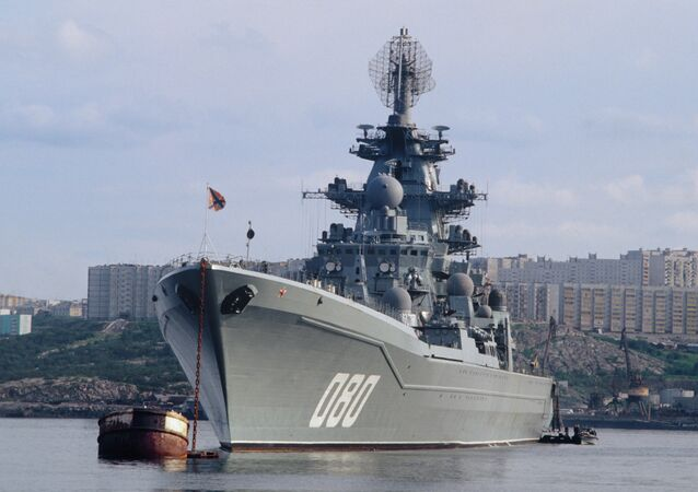 Heavy nuclear guided missile cruiser Admiral Nakhimov
