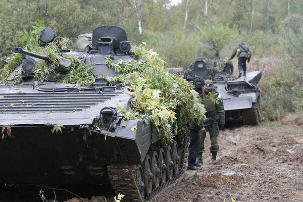 Russia, Belarus hold Union Shield 2011 exercise in the Nizhny Novgorod Region. (Archive) - Sputnik International