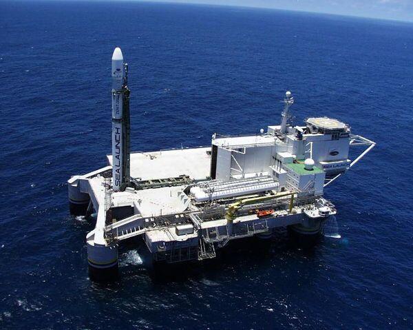 Odyssey mobile spacecraft launch platform. Files - Sputnik International