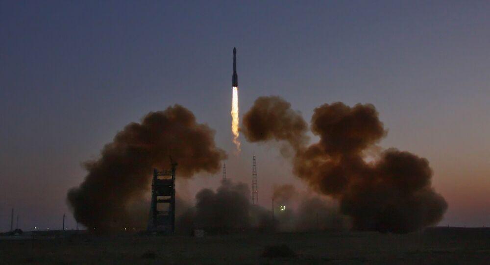 Пуск Ракеты-носителя Протон-М со спутником Глонасс