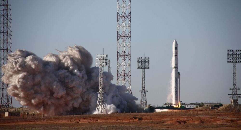 Zenit-3SLBF carrier rocket launches Spektr-R satellite