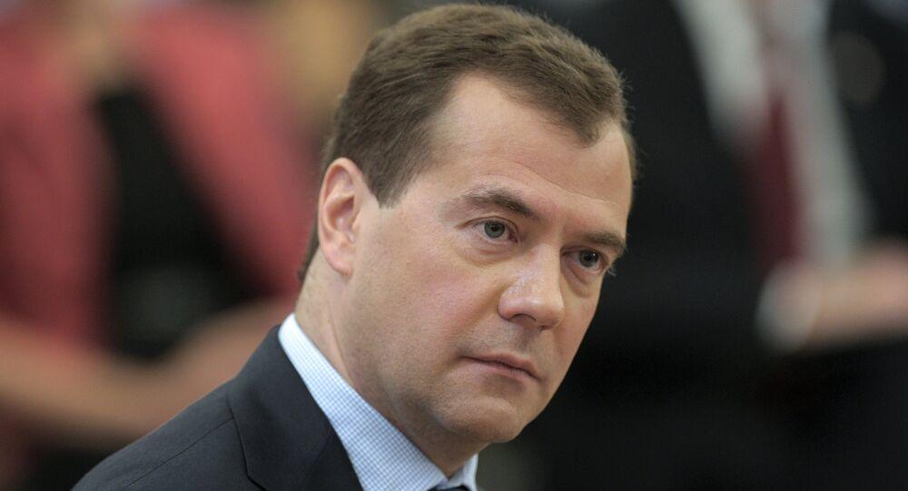 Russian President Dmitry Medvedev