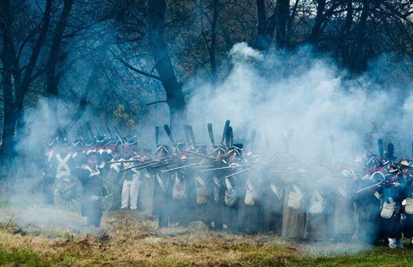 Reenacting the 1812 Patriotic War near Maloyaroslavets  - Sputnik International