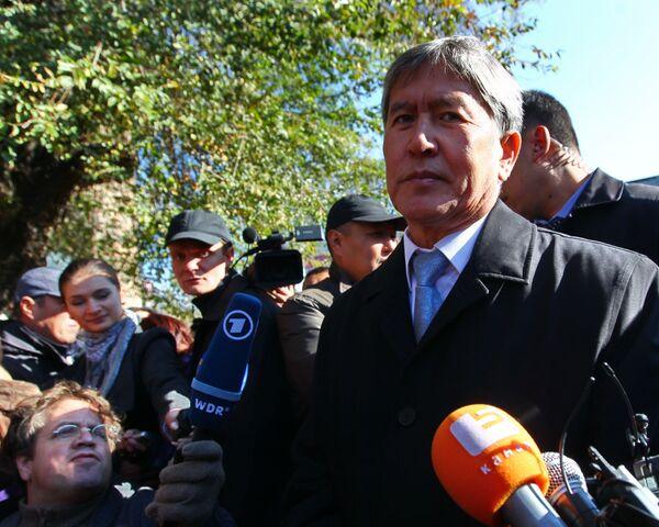 Almazbek Atambayev - Sputnik International