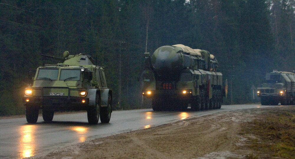 The Topol M missile system