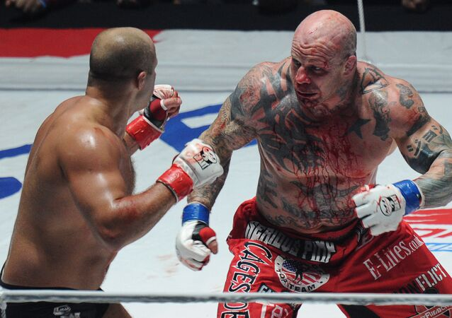 Fedor Emelianenko and Jeff Monson