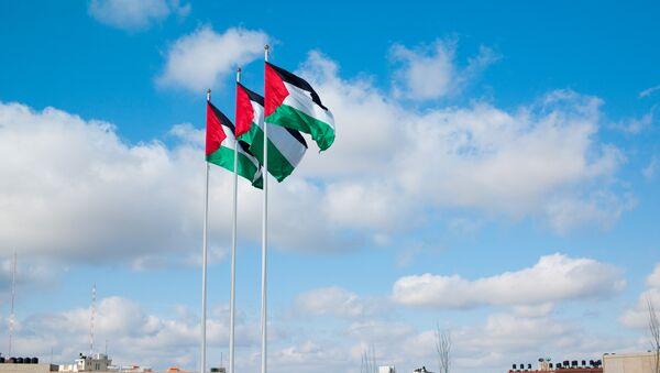 Flags pf Palestine - Sputnik International