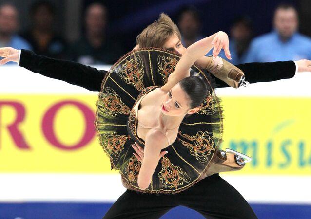 Фигурное катание. ЧМ-2011. Танцы на льду. Произвольный танец