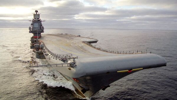 At present, Russia has only one aircraft carrier, the Admiral Kuznetsov. - Sputnik International