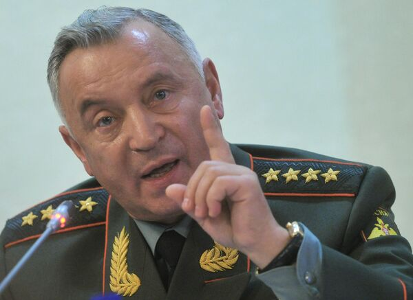Chief of the General Staff of the Russian Armed Forces Nikolai Makarov  - Sputnik International