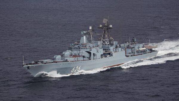 Russian Navy's Vice-Admiral Kulakov destroyer - Sputnik International
