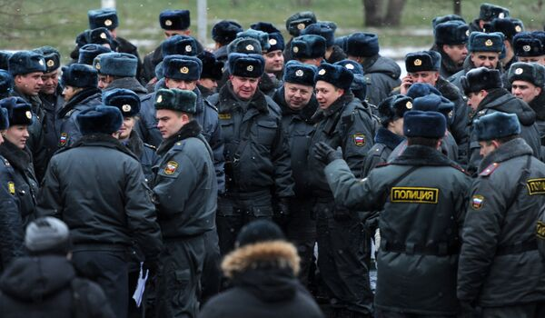 Russian Police - Sputnik International