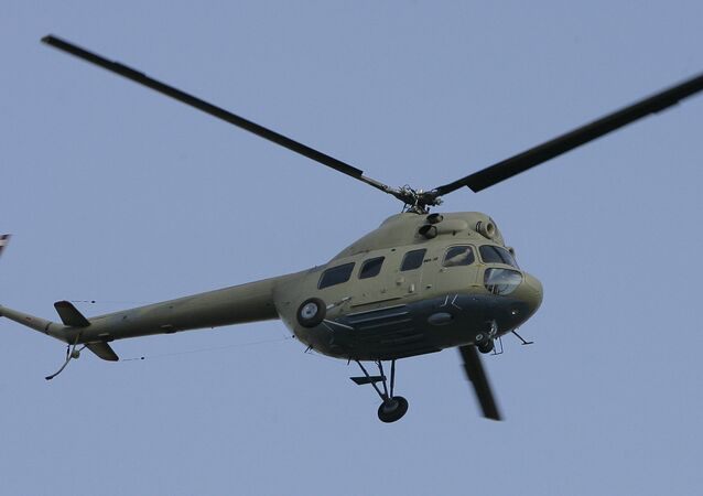 Mil Mi-2 Hoplite light multi-purpose helicopter