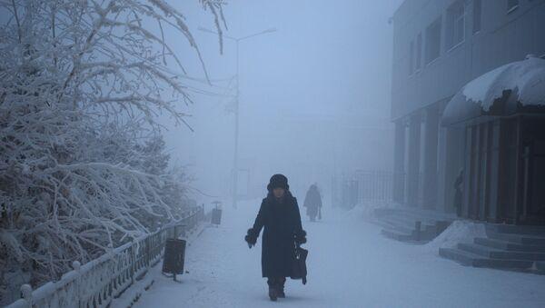 A winter day in the city of Yakutsk, Russia - Sputnik International