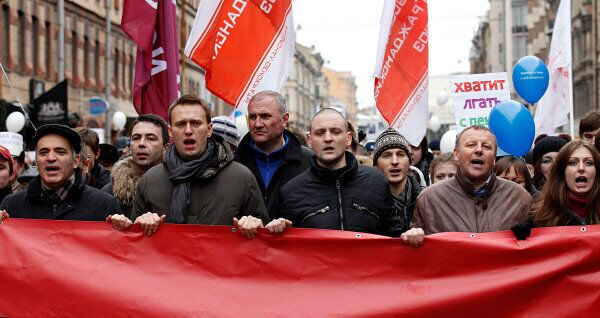 March 'For Fair Elections' takes place in St. Petersburg          - Sputnik International