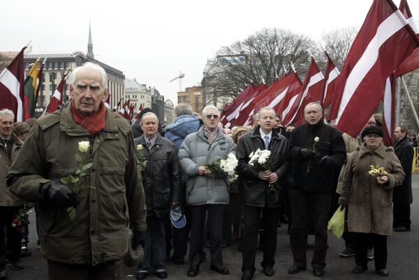 Latvian Waffen-SS Legion - Sputnik International