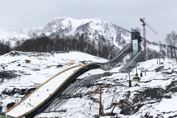 Russian Ski Jumpers Threatened With Olympic Axe - Sputnik International
