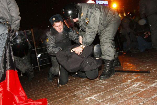 The opposition rally at Pushkinskaya Square - Sputnik International