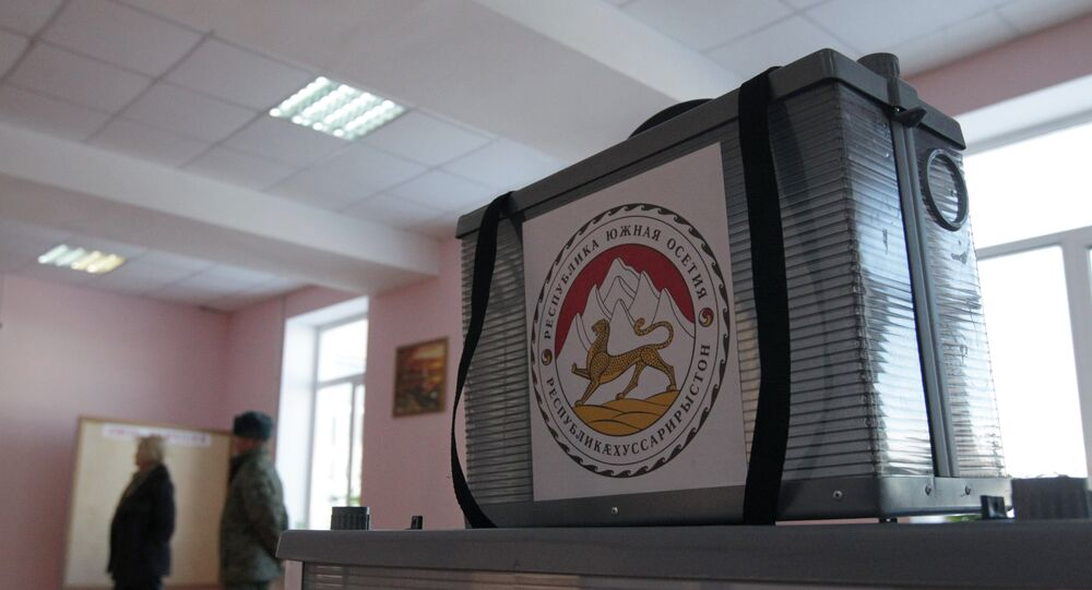 Elections in South Ossetia. Archive
