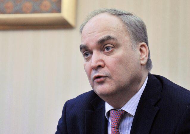 Deputy Russian Defense Minister Anatoly Antonov
