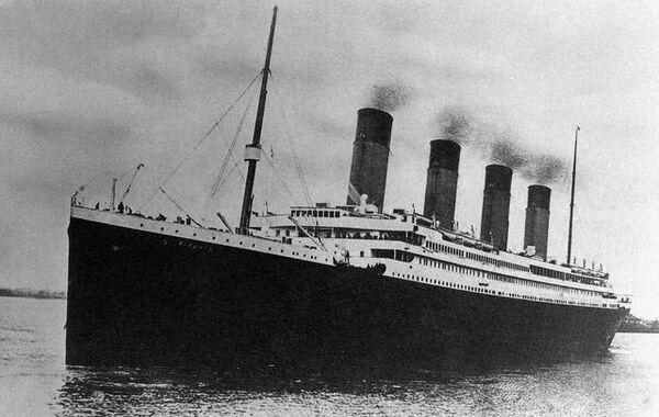 Titanic in Southampton, 10 April 1912 - Sputnik International