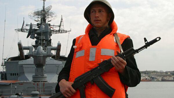 Russian Warship Smetlivy  - Sputnik International