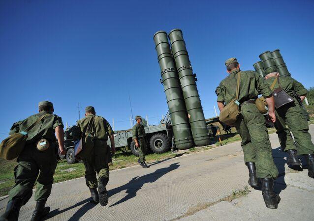 С-400 Триумф охраняет воздушные рубежи Москвы