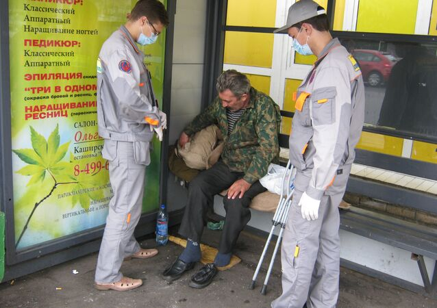 """""""Since 2009, the city has been running Social Patrol, a set of mobile teams of medics and psychologists who reach out to the homeless."""""""