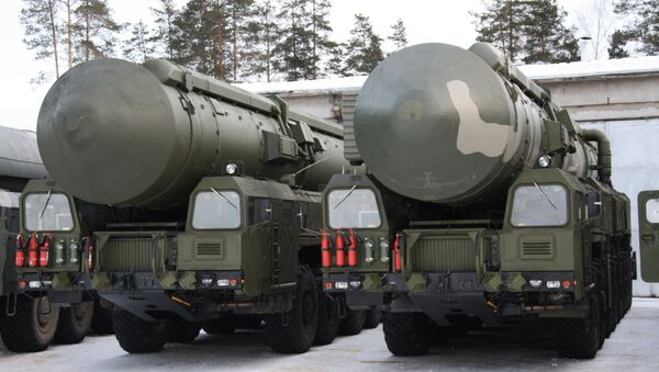 The projected European missile defense system could by 2020 have the ability to intercept Russian intercontinental ballistic missiles - Sputnik International