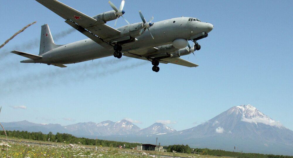 The Ilyushin Il-38 (May) anti-submarine warfare aircraft