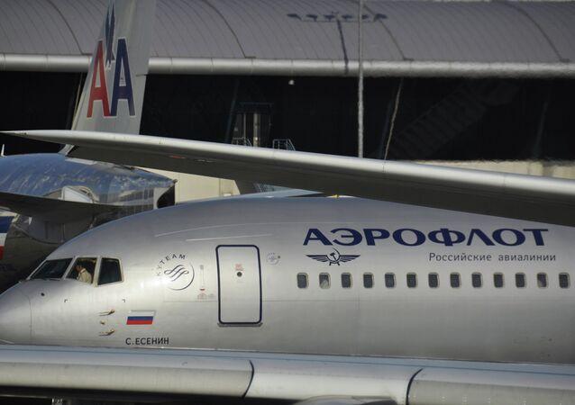 Аэрофлот нарастил чистую прибыль в I полугодии в 21,5 раза