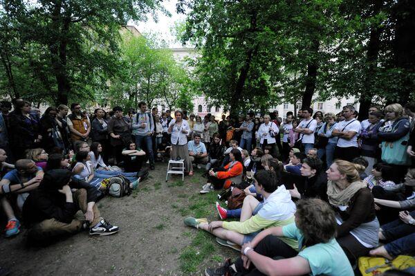 'Occupy' Camp Spells Hope for Anti-Putin Protests          - Sputnik International