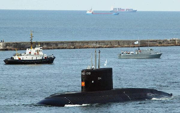 Project 877 submarine - Sputnik International