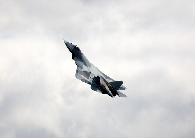 Fifth-generation T-50 fighter jet