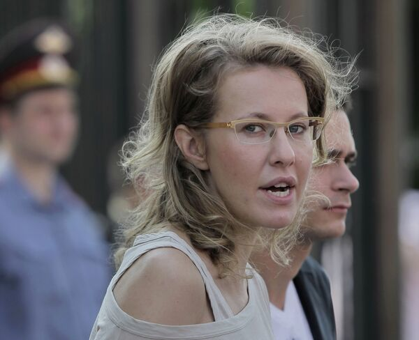 Ksenia Sobchak - Sputnik International