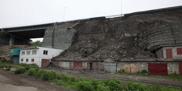 Collapse of a newly built road in Vladivostok - Sputnik International