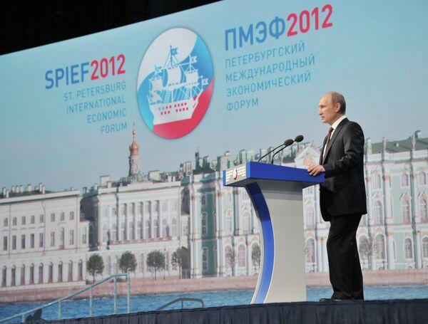 Putin Calls for 27% GDP Investment by 2018          - Sputnik International