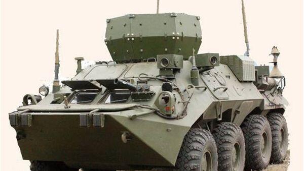 VDV have accepted into service the new Infauna electronic warfare vehicle - Sputnik International