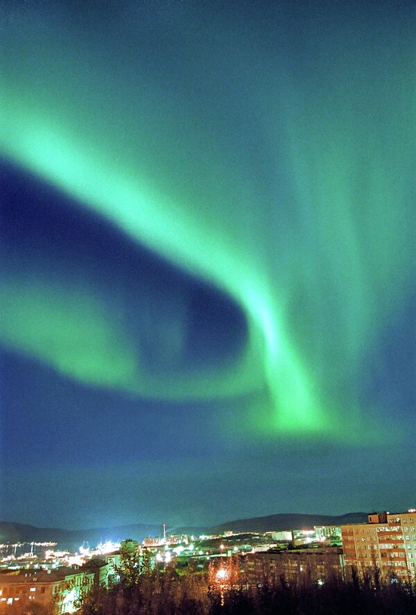 Aurora Borealis will be visible in Russia's central regions on Friday night, September,12 - Sputnik International