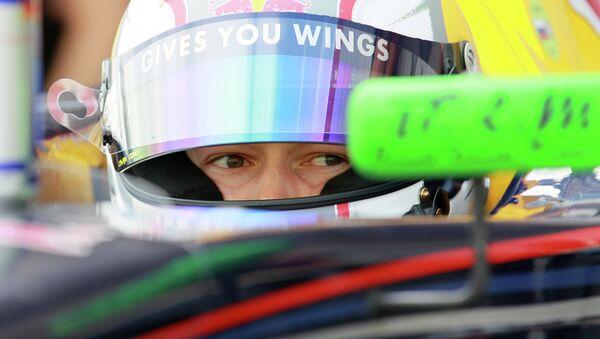 Russian Formula One driver Daniil Kvyat was named Autosport's Rookie of the Year. - Sputnik International