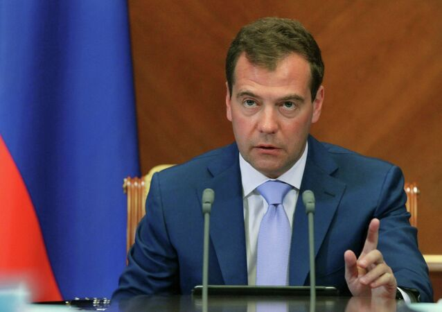 Prime Minister Dmitri Medvedev has ordered that the government take steps to prevent a speculation-driven rise in food prices