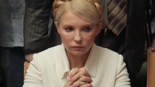 Leader of the Batkivshchyna (Fatherland) party, former Prime Minister Yulia Tymoshenkoю - Sputnik International