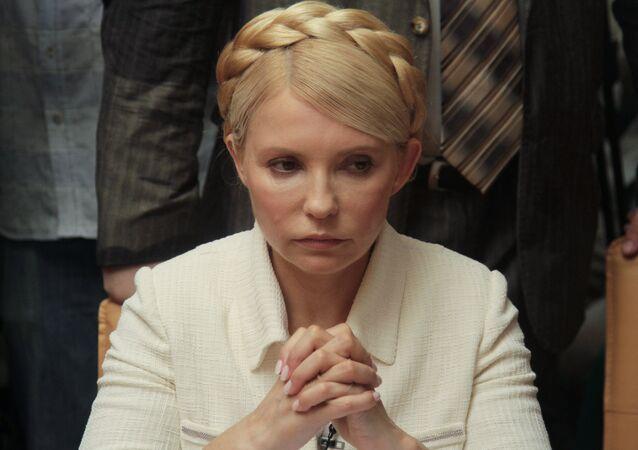 Тимошенко возглавила украинскую оппозицию на выборах в Раду