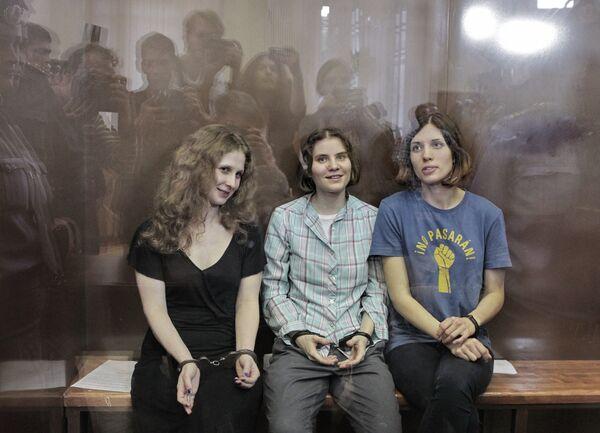 Pussy Riot members - Sputnik International